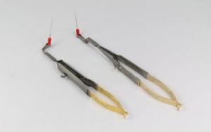 Szczypce endodontyczne do narzedzi kanałowych